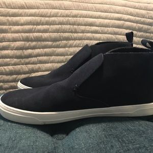 DV for Target Roselyn Navy Suede High Top